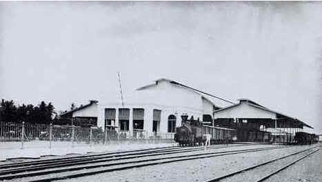 Stasiun Tugu tahun 1887