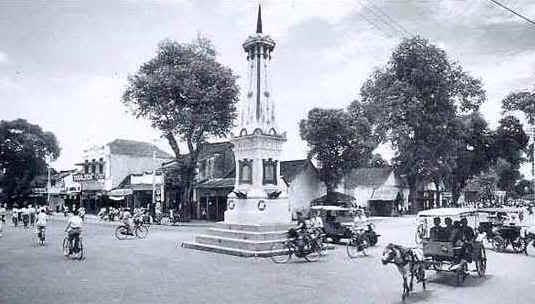 Tugu Yogya tahun 1928